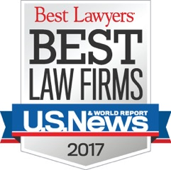 Best Law Firms 2017 badge